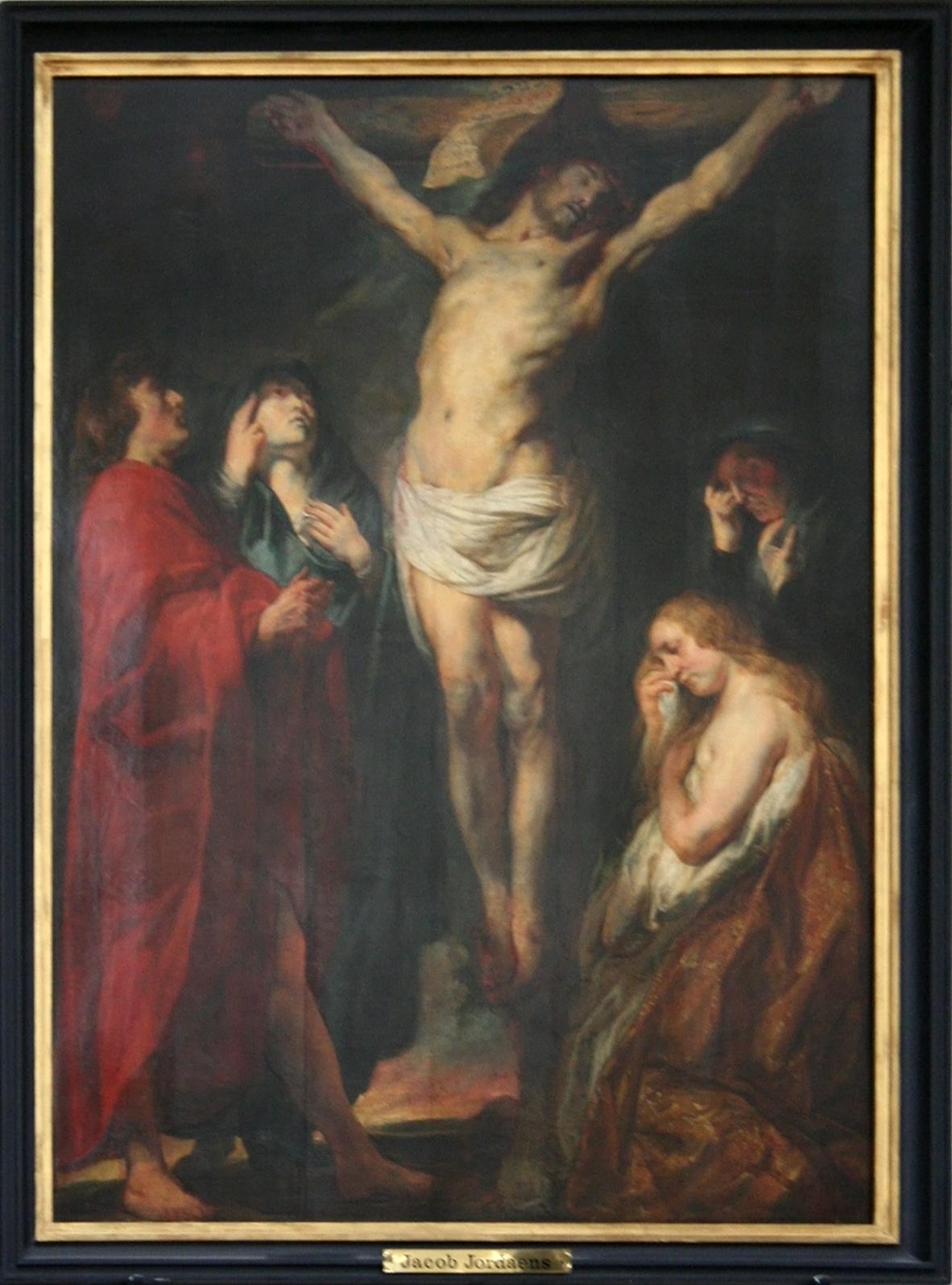 Kruisiging van Jezus Jacob Jordaen